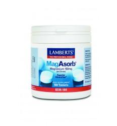 Lamberts MagAsorb (magnesium citraat) 150 mg 180 tabletten |