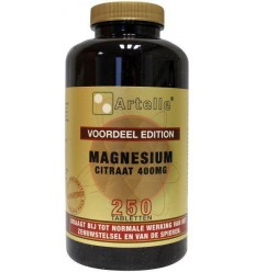 Artelle Magnesium citraat elementair 250 tabletten  