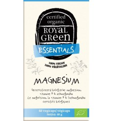Royal Green Magnesium 60 vcaps | € 18.79 | Superfoodstore.nl