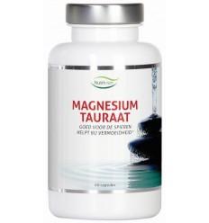 Nutrivian Magnesium tauraat B6 60 capsules | Superfoodstore.nl