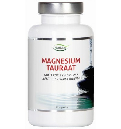 Vitamine B6 Nutrivian Magnesium tauraat B6 120 capsules kopen