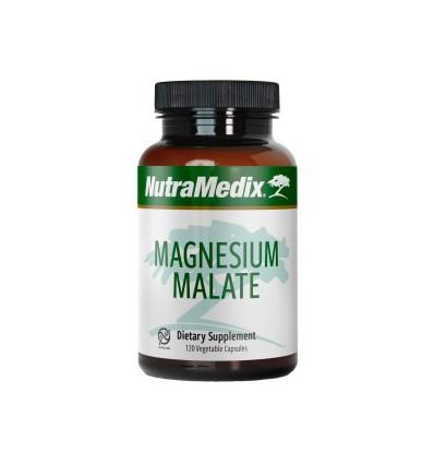 Nutramedix Magnesium malaat 120 vcaps | Superfoodstore.nl