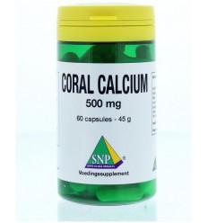 SNP Coral calcium 500 mg 60 capsules   Superfoodstore.nl