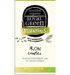 Royal Green Iron complex 60 vcaps | € 16.15 | Superfoodstore.nl