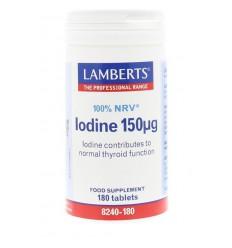 Lamberts Jodium 150 mcg 180 tabletten | Superfoodstore.nl