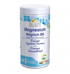 Be-Life Mg magnum & B6 90 capsules | Superfoodstore.nl
