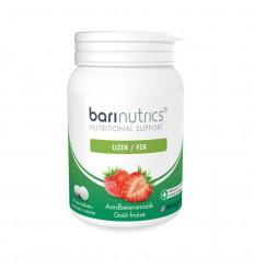 Barinutrics IJzer aardbei 90 tabletten | Superfoodstore.nl