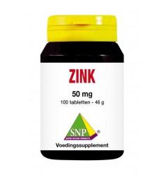 Zink SNP Zink 50 mg 100 tabletten kopen