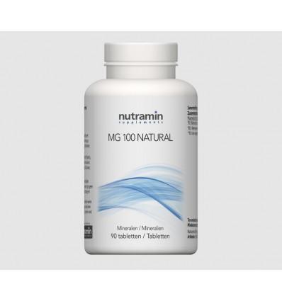 Mineralen Nutramin NTM MG 100 naturel 90 tabletten kopen