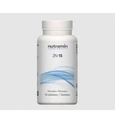 Nutramin NTM ZN 15 90 tabletten | Superfoodstore.nl
