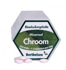 Berthelsen Chroom 250 tabletten | Superfoodstore.nl