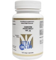Vital Cell Life Chroom picolinaat 100 mcg 100 capsules |
