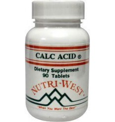 Nutri West Calc acid 90 tabletten | € 23.39 | Superfoodstore.nl