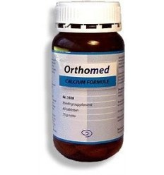 Orthomed Calcium formule 60 capsules | € 9.12 | Superfoodstore.nl