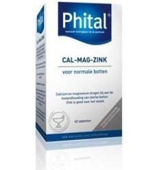 Phital Cal mag zink 60 tabletten | € 9.12 | Superfoodstore.nl