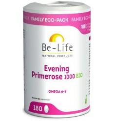 Be-Life Evening primrose 1000 180 capsules   Superfoodstore.nl