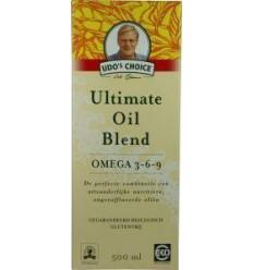 Udo's Choice Ultimate oil blend eko 500 ml   Superfoodstore.nl