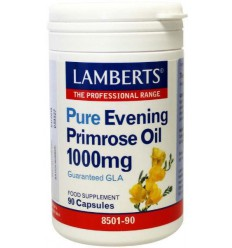 Lamberts Teunisbloemolie 1000 mg (pure evening primrose) 90