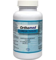 Orthomed Omega 3+6+9 formule 32 softgels | € 6.05 | Superfoodstore.nl