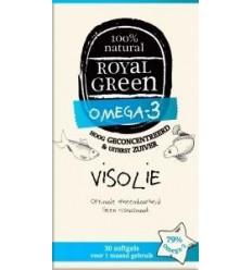 Royal Green Omega 3 visolie 30 softgels   Superfoodstore.nl