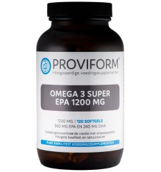 Proviform Omega 3 super EPA 1200 mg 120 softgels |