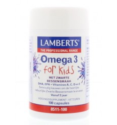 Lamberts Visolie omega 3 for kids 100 capsules |