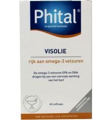 Phital Visolie 60 capsules | Superfoodstore.nl