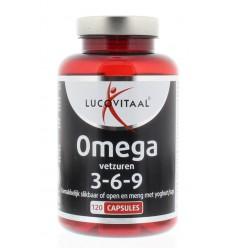 Lucovitaal Omega 3 6 9 120 capsules | Superfoodstore.nl