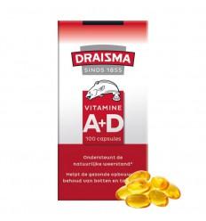 Draisma Vitamine A + D levertraan 100 capsules  