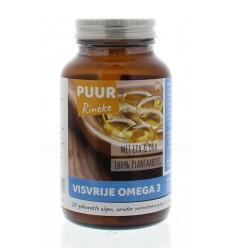 Puur Rineke Visvrije omega 3 60 capsules | Superfoodstore.nl