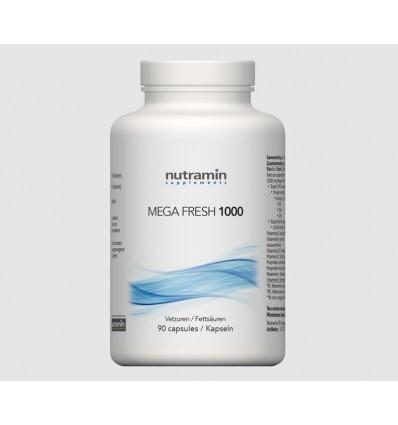 Vetzuren Nutramin NTM Mega fresh 1000 90 capsules kopen