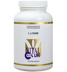 Vital Cell Life L-Lysine 400 mg 100 capsules | Superfoodstore.nl