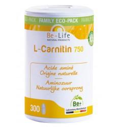 Be-Life L-Carnitin 750 300 tabletten | Superfoodstore.nl