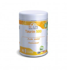Be-Life Taurin 500 90 softgels | Superfoodstore.nl