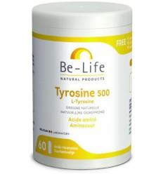 Be-Life Tyrosine 500 60 softgels | Superfoodstore.nl