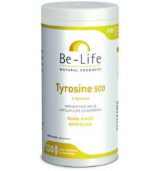 Be-Life Tyrosine 500 120 softgels | € 26.21 | Superfoodstore.nl