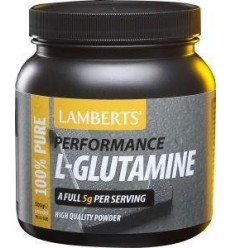 Lamberts L-Glutamine poeder 500 gram | € 51.15 | Superfoodstore.nl