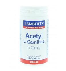 Lamberts Acetyl l-carnitine 500 mg 60 capsules |