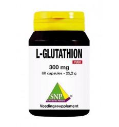 SNP L-Glutathion 300 mg puur 60 capsules | Superfoodstore.nl