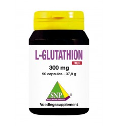 SNP L-Glutathion 300 mg puur 90 capsules | € 50.08 | Superfoodstore.nl