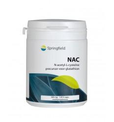L-Cysteïne Springfield N Acetyl L cysteine 120 vcaps kopen