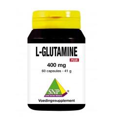 SNP L-Glutamine 400 mg puur 60 capsules | € 13.69 | Superfoodstore.nl