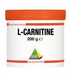 SNP L-carnitine XXL puur 200 gram | Superfoodstore.nl