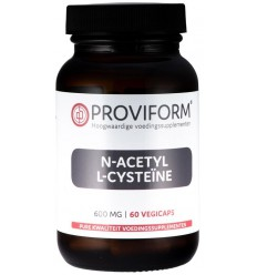 Proviform N-acetyl L-cysteine 600 mg 60 vcaps | € 14.45 | Superfoodstore.nl