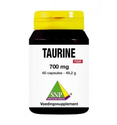 SNP Taurine 700 mg puur 60 capsules | Superfoodstore.nl