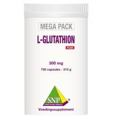 SNP L-Glutathion puur megapack 750 capsules | € 385.15 | Superfoodstore.nl