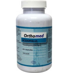 Orthomed Acidophilus formule 60 capsules | € 11.84 | Superfoodstore.nl