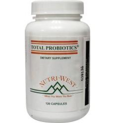 Nutri West Total probiotics 120 capsules | Superfoodstore.nl