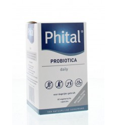 Phital Probiotica daily 60 capsules | Superfoodstore.nl