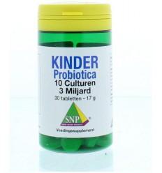 Probiotica SNP Probiotica kinder 10 culturen 30 tabletten kopen